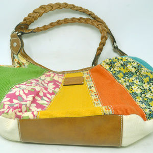 Relic Brand Multicolor Patchwork Design Bags